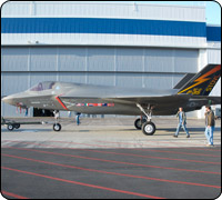 BF-1 F-35 Joint Strike Fighter roll out on schedule!