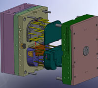 3-D Solidworks Model of Mold - Pest Control Bait Station